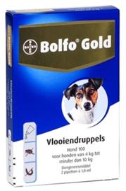 Bolfo anti vlooien pipetten 4 tot 10 kg