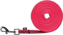 Trixie sleeplijn pink 5 meter x 1,5 cm