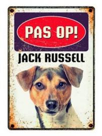 Waakbord jack russel