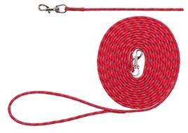 Trixie junior lijn rood 4 meter x 4 mm