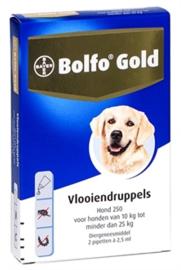 Bolfo anti vlooien pipetten 10 tot 25 kg