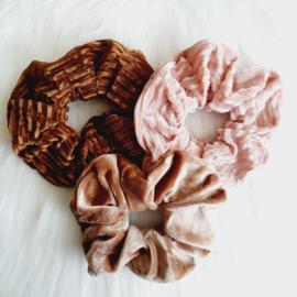 Velvet scrunchies!