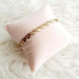 Armband hartjes