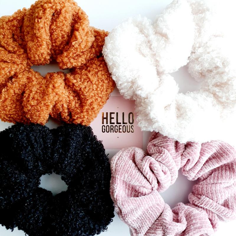 Teddy scrunchies!