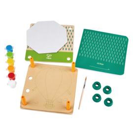 Bloemenpers DIY kit Hape