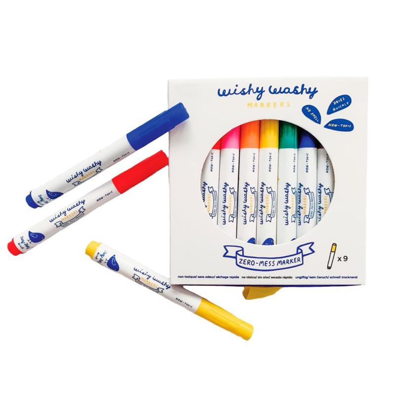 Wishy Washy Markers (raamstiften) Jaq Jaq Bird