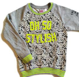 128 (maat 8) - Vingino sweater Oh so stylish