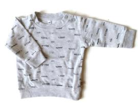 68 - Zeeman sweater Hello