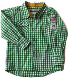 104 - Vinrose geruite blouse