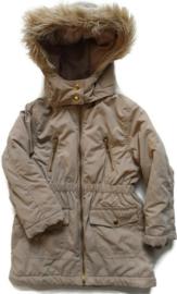 104 - H&M winterjas met afneembare bontkraag