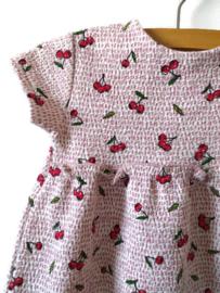 80 - Zara zomerjurkje met kersen