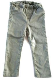 98 - H&M spijkerbroek grijs/groen