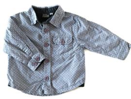 68 - Pointer blouse met print