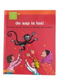 Boek 'De aap is los', niveau AVI start (6+)