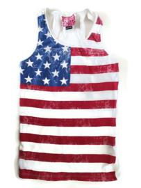 134/140 - CoolCat hemd Amerikaanse vlag
