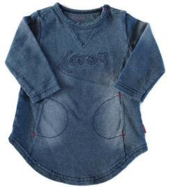 62 - Bess jurkje met jeanslook