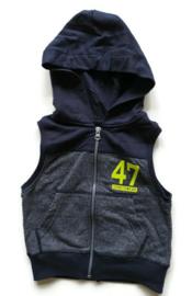 92 - Wibra bodywarmer (sweatstof)