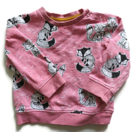 86 - Hema sweater met vosjes