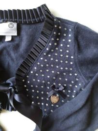 92 - Le Chic bolero/vestje met 'diamantjes'