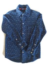 116/122 - Claesens blouse (elastische stof)