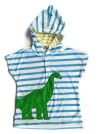 92  (90 cm) - t-shirt-'handdoek' met capuchon