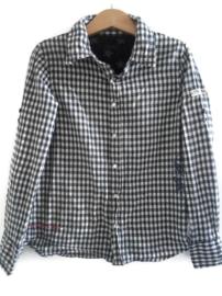 140 - IKKS geruit overhemd