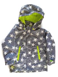 92 - H&M regenjas met sterren
