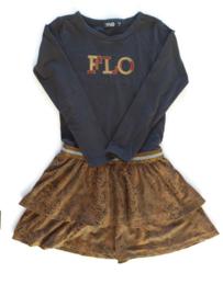 116 - Like Flo jurk slangenprint