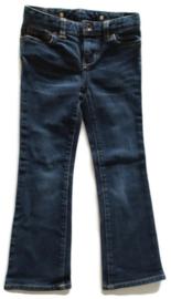 110/116 (maat 5) - Ralph Lauren 'flared' spijkerbroek