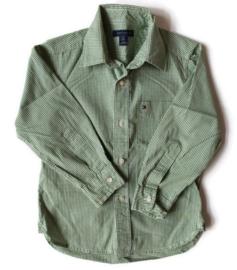104/110 (maat 4/5) - Tommy Hilfiger overhemd/blouse