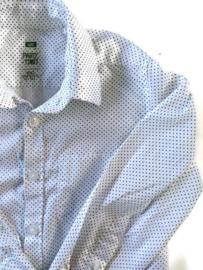 98/104 - WE overhemd met kruisjespatroon
