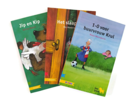 Set van 3 boekjes voor groep 5 (Zwijsen/Leesleeuw)