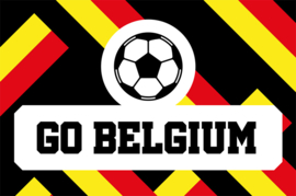 Vlag GO BELGIUM