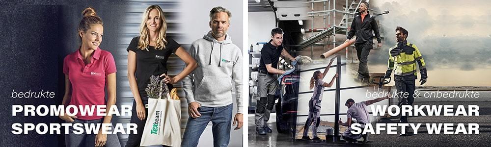 promowear - sportswear - workwear - safety wear