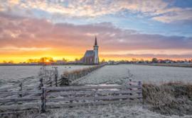 Kerk van den Hoorn, ringen in de hoeken.