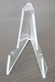 acryl standaard - transparant - set van 2