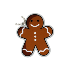 Oakcoins Travel Tag - Gingerbread mannetje