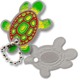 Coins and Pins Travel Schildpad