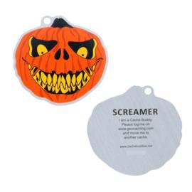 Screamer travel tag
