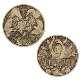 Groundspeak Geocoin Griekse Goden - Aphrodite