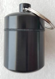 Micro Cache container - capsule (zwart)