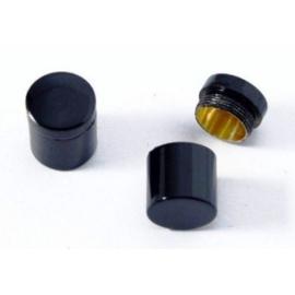 CacheQuarter Nano container - magnetisch (zwart)