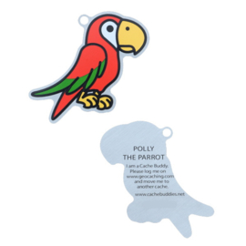 Oakcoins Travel Tag - Polly the Parrot