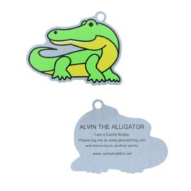 Oakcoins Travel Tag - Alvin the Alligator
