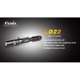 Fenix LD22 zaklamp 300