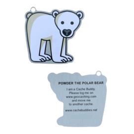 Oakcoins Travel Tag - Powder the Polar Bear