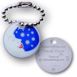Coins and Pins Travel Maan tag