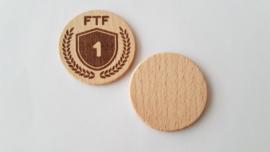 Set van FTF, SFT, TTF woodies
