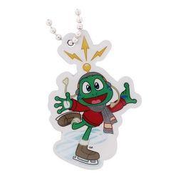 Groundspeak travel tag - Signal the Frog - schaatser