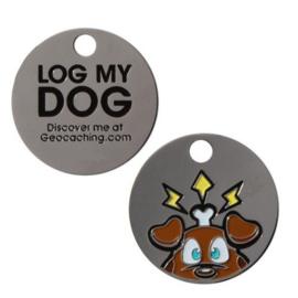 Groundspeak 'Log-my-Dog' traveltag